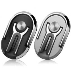 Ultratunn Mobilring / Bilhållare Ventilation Silver