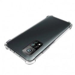 Xiaomi Mi 10T / Mi 10T Pro Stötdämpande Silikon Skal Shockr® Svart