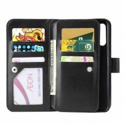 Xiaomi Mi A2 Lite Praktisk Plånboksfodral med 10-Fack Array® Black