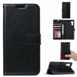 Xiaomi Mi Note 10 Plånboksfodral PU-Läder 4-FACK Black