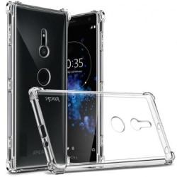 Xperia XZ3 Stötdämpande Silikon Skal Shockr® Transparent