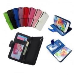 Z5 Compact Plånboksfodral med stöd | 3 Fack + ID Rosa