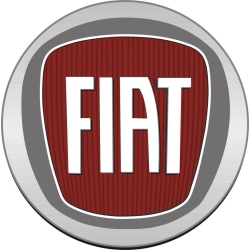 Fiat dekal, finns i 5 storlekar 14 cm i diameter