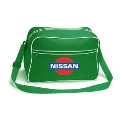 Nissan retroväska, 3 färger Röd