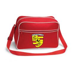 Porsche retroväska, 3 färger Röd