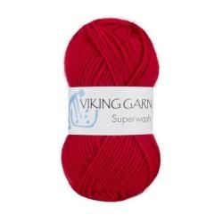 Viking Superwash Röd Röd