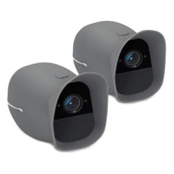 2x Kamera Hölje Skydd för Arlo Pro/Pro 2 Smart Laddkabel Tunnt M grå