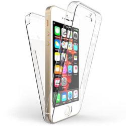360 Graders Skydd för iPhone 11   Transparent   Klar TPU Ärm Transparent