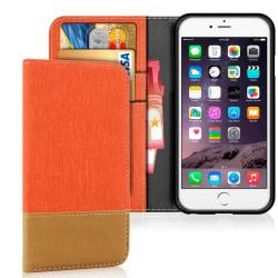 Apple iPhone 6 / 6s Mobilskydd Stötsäker Magnet Skydd Telefon Je Orange