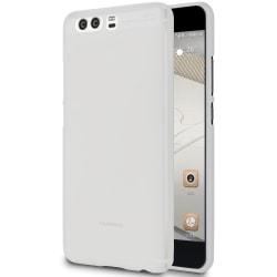 Enfärgat Mjukt Skal för Huawei P10 Plus Tunnt Skydd Mobil Mobils Vit