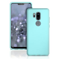 Enfärgat Mjukt Skal för LG G7 ThinQ  Silikon Mobilskal Tunnt Stö Turkos