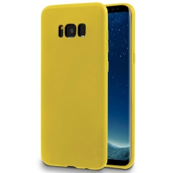 Enfärgat Mjukt Skal för Samsung Galaxy S8 Plus Silikon Lätt Ultr Citron gul