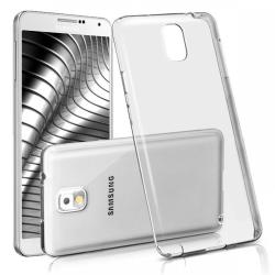 Enfärgat Transparent Mjukt Skal för Samsung Galaxy Note 3 Klart Transparent
