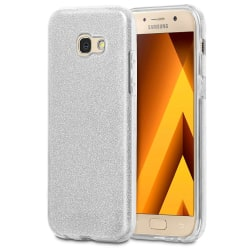 Fodral för Samsung Galaxy A3 (2017) bling Silikon Strass Glitter Vit