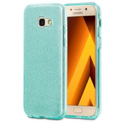 Glitter fodral för Samsung Galaxy A5 (2017) Strass Silikon bling Grön