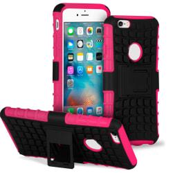 Halkfri hylsa med Kickstand för Apple iPhone 6 / 6s Stötsäker Hå Rosa