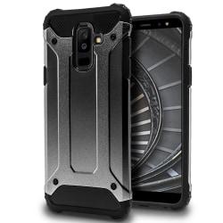Hårt Mobil Skal till Samsung Galaxy A6+ (2018) Grå Hybrid grå