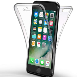 Helskydd Mobil för Apple iPhone 7 / 8 Gummi Mobilskal Genomskinl Transparent