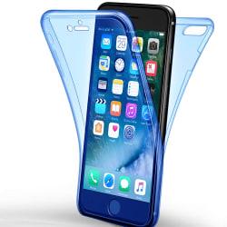 Helskydd Mobil för Apple iPhone 7 Plus / 8 Plus TPU Genomskinlig Blå