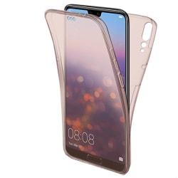 Helskydd Mobil för Huawei P20 Pro 360 Mobilskal Skal Telefon Sil Rosa guld