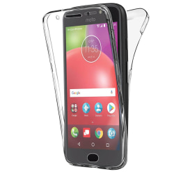 Helskydd Mobil för Motorola Moto G4 / G4 Plus Gummi 360 Stötsäke Transparent