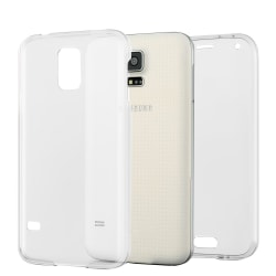 Helskydd Mobil för Samsung Galaxy S5 TPU Mobilskydd Genomskinlig Transparent