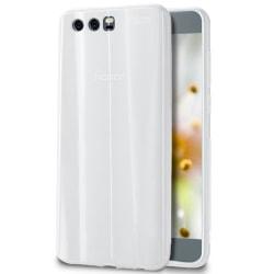 Huawei P10 Skal Enfärgat Mobilskydd TPU Mobilskal Tunnt Vit Vit