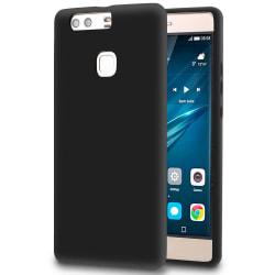 Matt Mjukt Skal för Huawei P9 Plus Mobilskal Tunnt Mobilskydd Si Svart