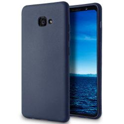 Matt Mjukt Skal för Samsung Galaxy A5 (2016) Mobil Skydd Marinbl Mörkblå