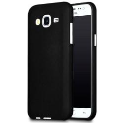 Matt Mjukt Skal för Samsung Galaxy J5 Mobilskal Mobil Mobilskydd Svart
