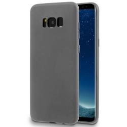 Matt Mjukt Skal för Samsung Galaxy S8 Plus Tunnt Enfärgat Ultra- grå