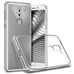 Mjukt Genomskinligt Mobil-Skydd för Huawei Honor 6x Tunnt Klart Transparent
