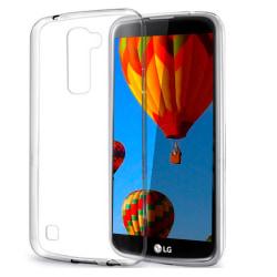 Mjukt Genomskinligt Mobil-Skydd för LG K10 Skal Tunnt Klart Transparent