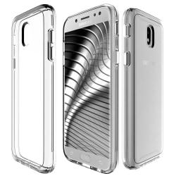 Mjukt Genomskinligt Mobil-Skydd för Samsung Galaxy J5 Klart Transparent