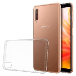 Mjukt Klart Tunnt Mobilskal för Samsung Galaxy A7 (2018) Klart Transparent