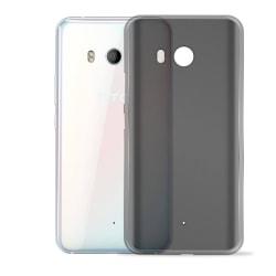Mjukt Mobil-Skydd för HTC U11 Silikon Skal Telefon Ultra-Slim St Mörkgrå