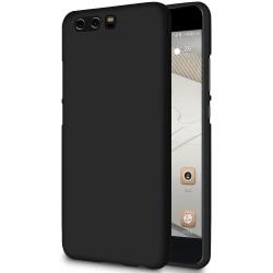 Mjukt Mobil-Skydd för Huawei P10 Plus TPU Ultra-Slim Telefon Mob Svart