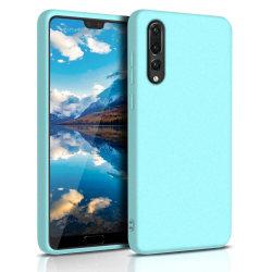 Mjukt Mobil-Skydd för Huawei P30 Stötsäker Telefon Tunnt Mobilsk Turkos