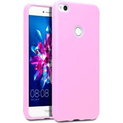 Mjukt Mobil-Skydd för Huawei P8 Lite Telefon Mobilskal Rosa Rosa