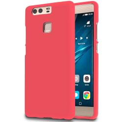 Mjukt Mobil-Skydd för Huawei P9 Silikon Stötsäker Mobilskal Tele Röd