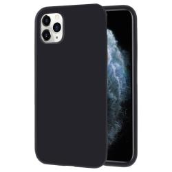 Mjukt Mobil-Skydd för iPhone 11 Pro Max Stötsäker Lätt Skal Tele Svart