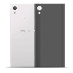Mjukt Mobil-Skydd för Sony Xperia XA1 Ultra Gummi Ultra-Slim Mob Mörkgrå
