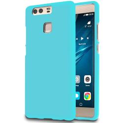 Mjukt Tunnt Mobil-Skydd för Huawei P9 Enfärgat Gummi Stötsäker M Turkos