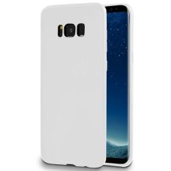 Mjukt Tunnt Mobil-Skydd för Samsung Galaxy S8 Plus Lätt Ultra-Sl Vit