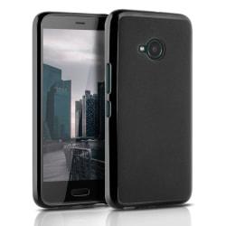 Mjukt Tunnt Mobilskal för HTC U11 Life Gummi Telefon Ultra-Slim  Svart