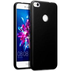 Mjukt Tunnt Mobilskal för Huawei P10 lite Skydd Stötsäker Svart Svart