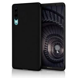 Mjukt Tunnt Mobilskal för Huawei P30 Lätt Skydd Telefon Mobilsky Svart