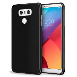 Mjukt Tunnt Mobilskal för LG G6 Silikon Lätt Skydd Mobilskydd St Svart