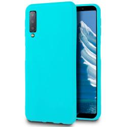 Mjukt Tunnt Mobilskal för Samsung Galaxy A50 Lätt Skydd Gummi St Turkos