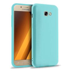Mjukt Tunnt Mobilskal för Samsung Galaxy A7 (2017) Skydd Gummi E Turkos